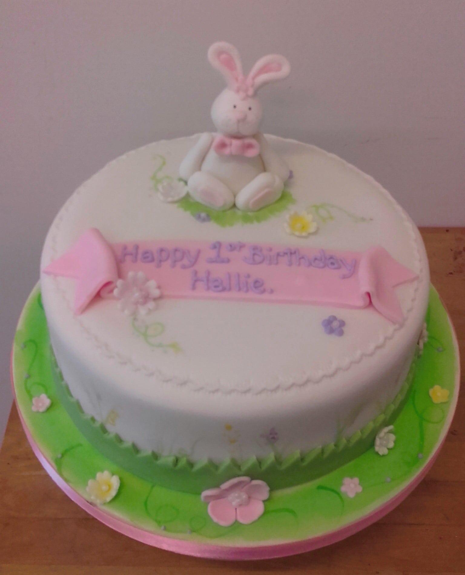 bunny 1st Birthday