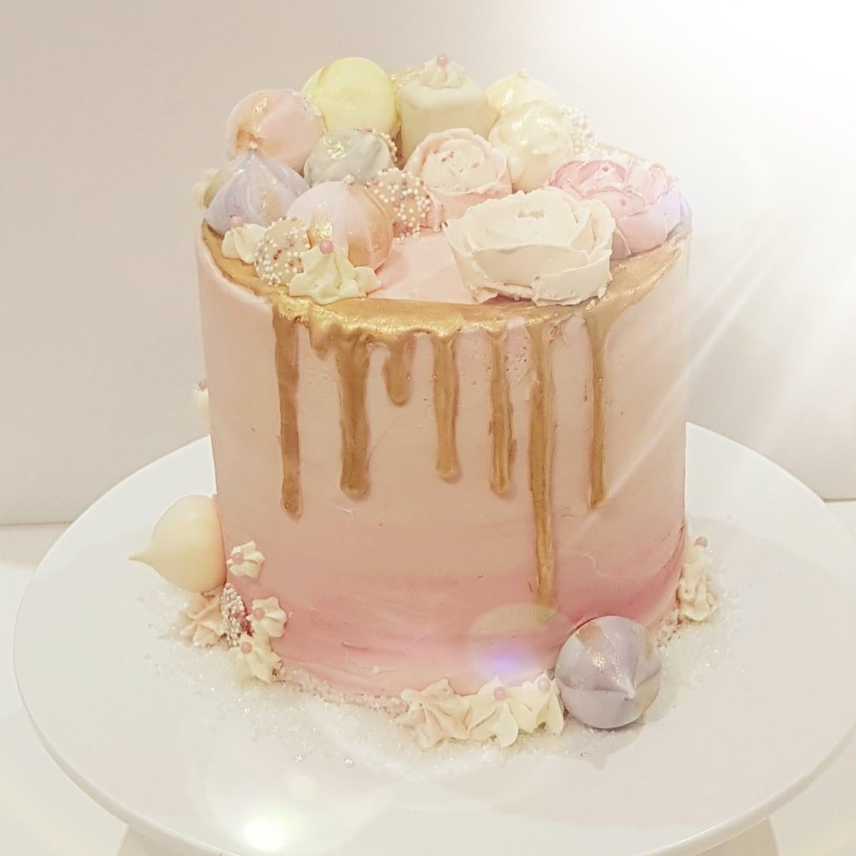 pink & gold drip - Copy