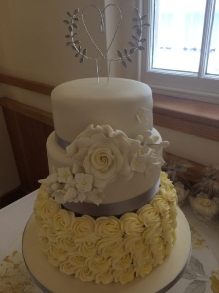buttercream and fondant