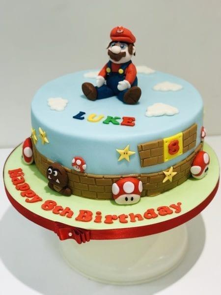 Mario cake